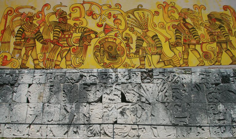 Chichén Itzá Sacrifice at the Ball Game.