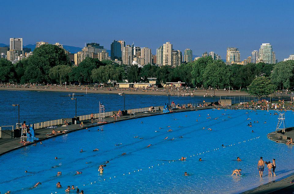 Kitsilano Pool in Vancouver, BC