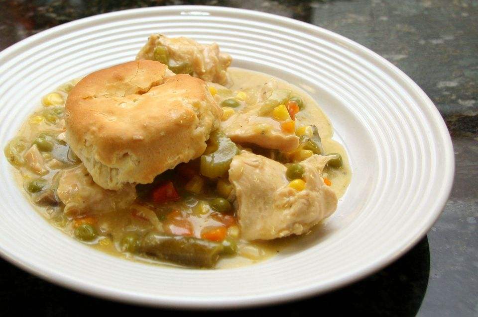 Crock Pot Chicken And Biscuits Recipe