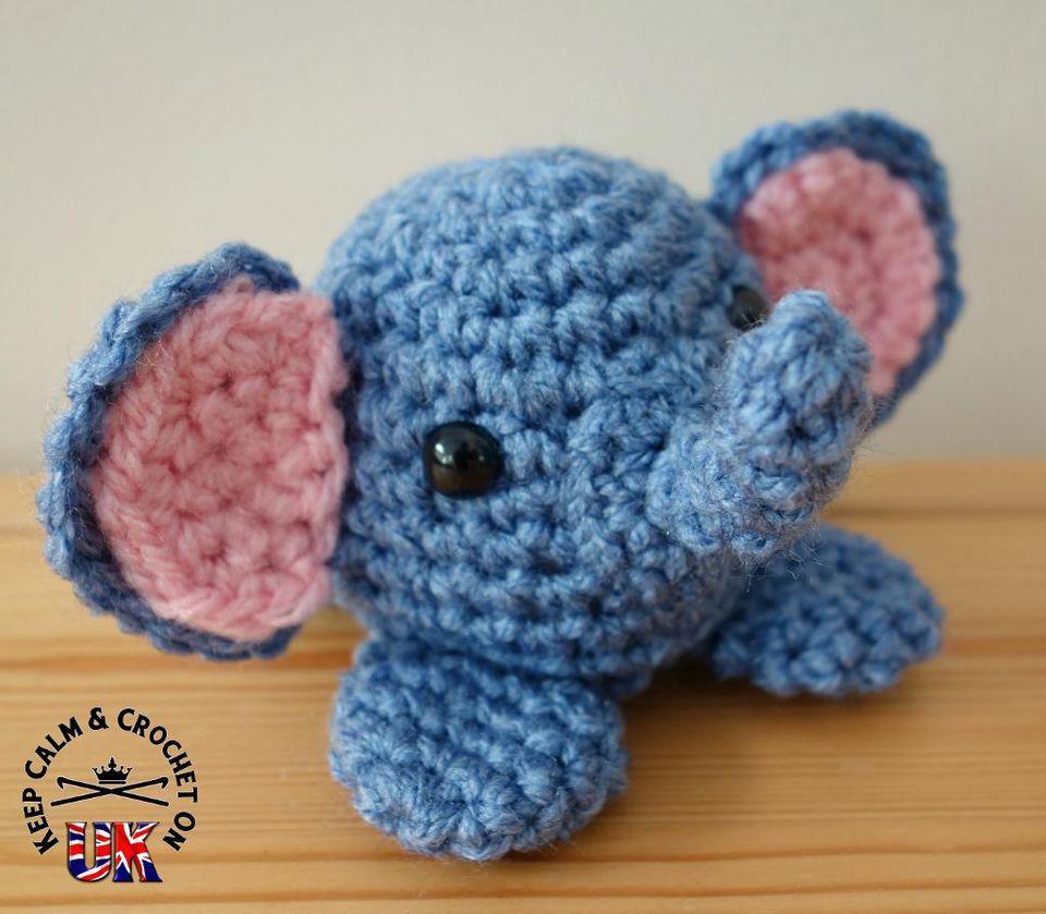 11 free crochet elephant patterns ezra the elephant free crochet pattern dt1010fo