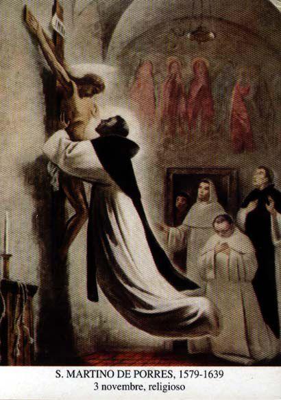 San Martín y la levitación