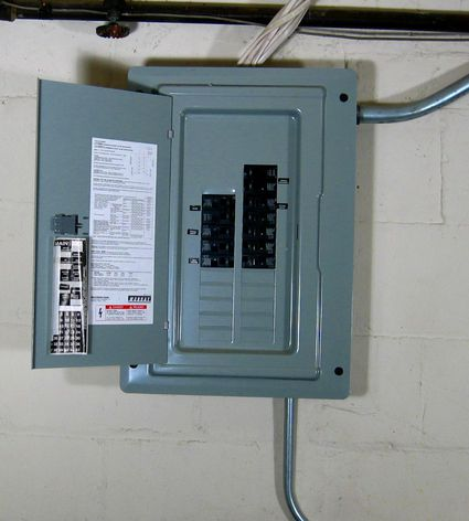 How to find the electrical service size of your home for Electrical service size