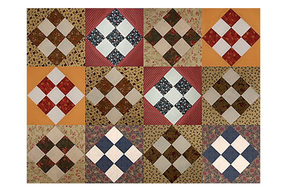 Nine Patch Quilt Block Patterns Simple to Complex : quilt directions - Adamdwight.com