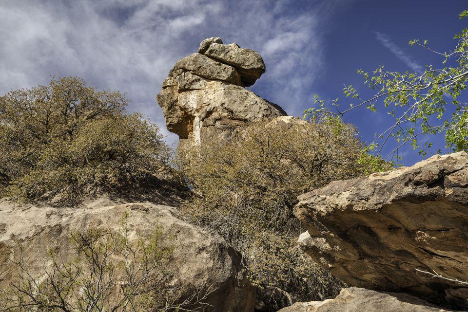 Hueco Tanks State Park, near El Paso, Texas, USA