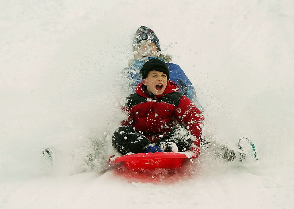 How to Host a Sledding Party for Kids