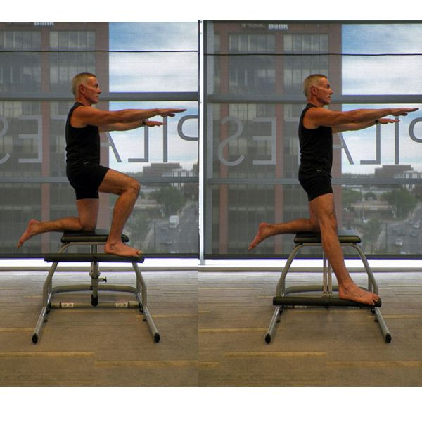 Pilates Chair Mountain Climber: Lower Body Workout With The Malibu Pilates Chair