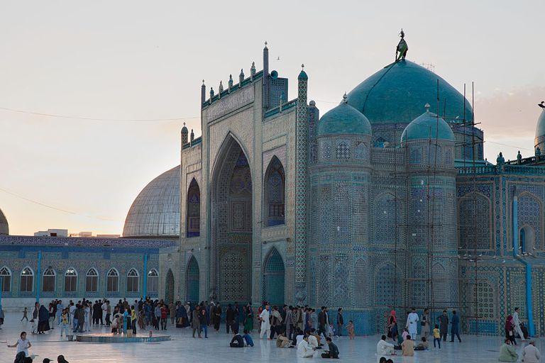 Blue Mosque In Mazar-I Sharif