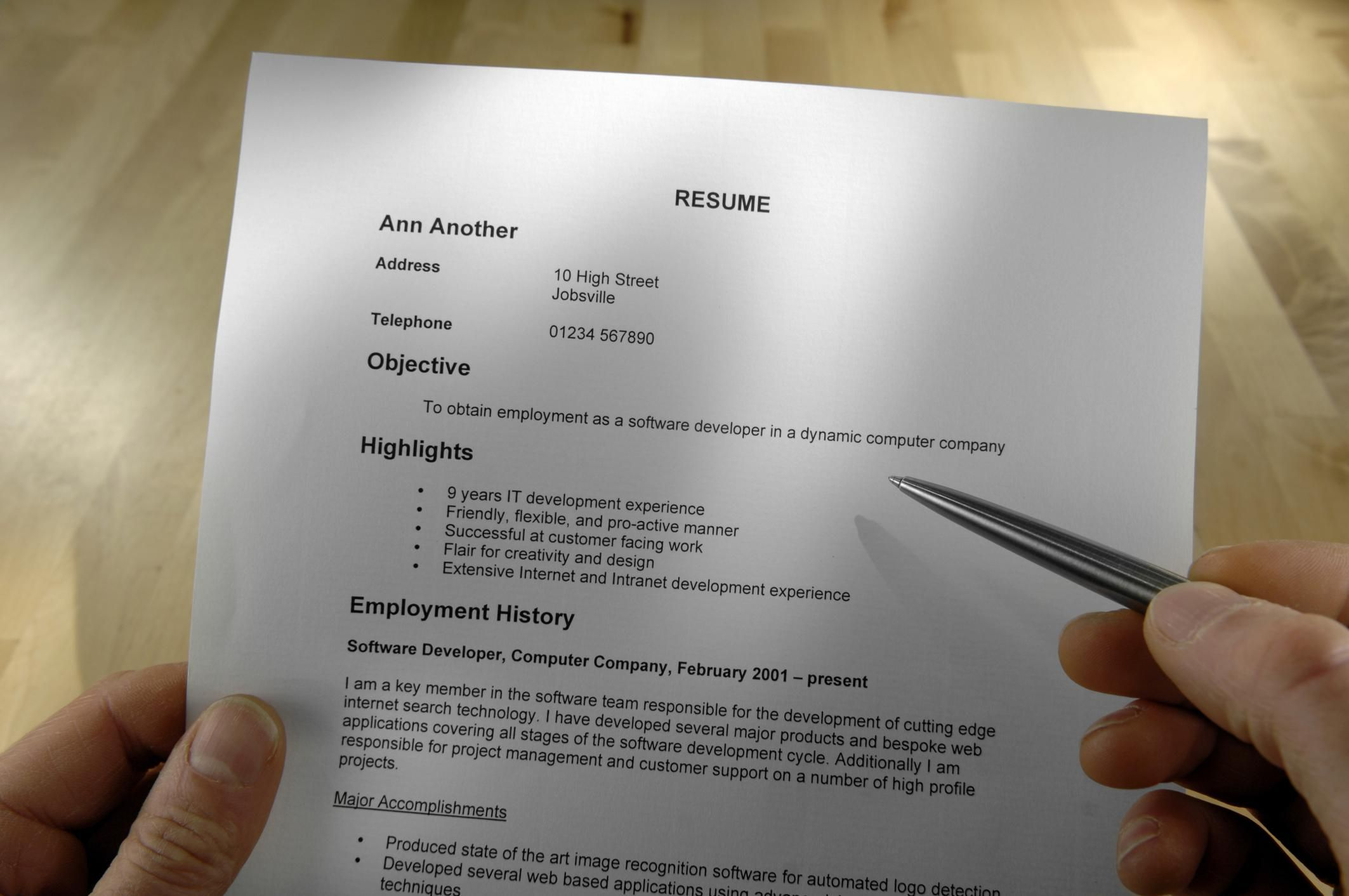 How to explain a demotion in a resume and cover letter madrichimfo Gallery