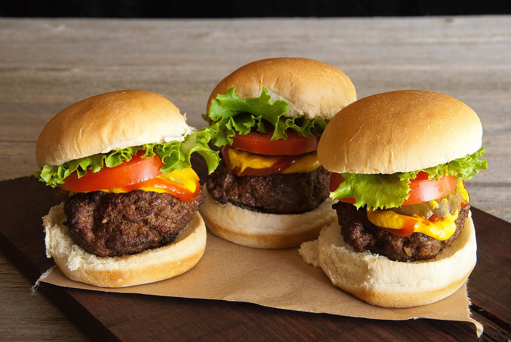 All American Sliders Mini Burgers Recipes