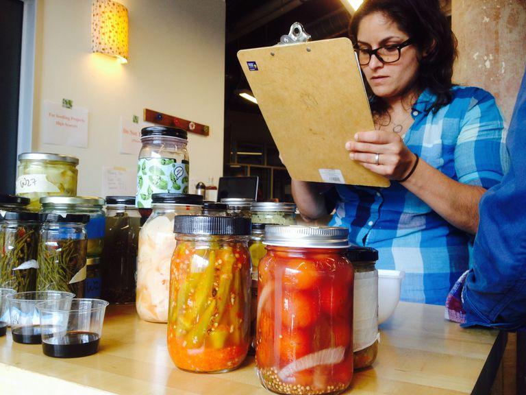 Artisan small batch pickles at Good Food Awards