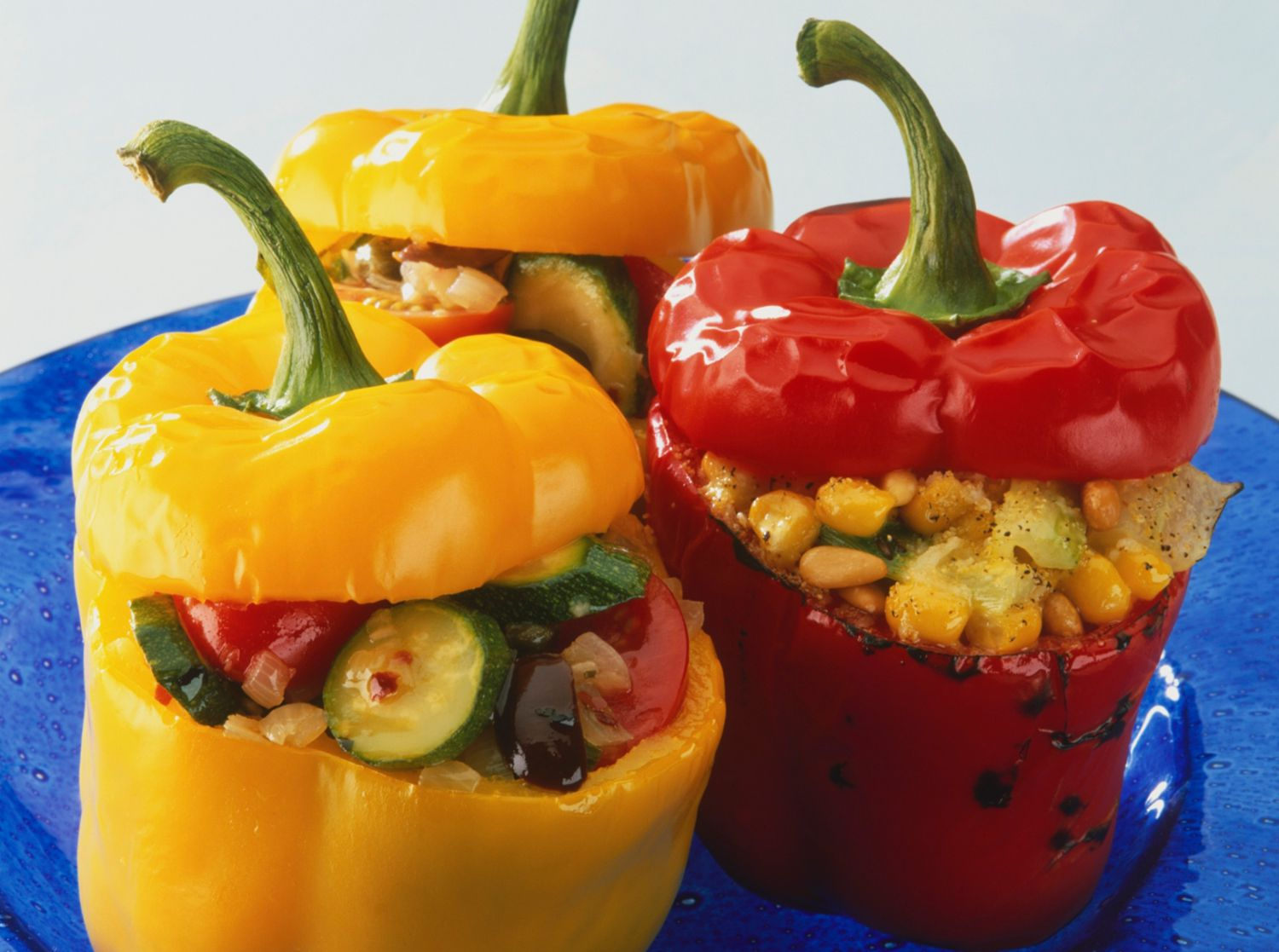 Stuffed Peppers With Corn And Tomato Recipe