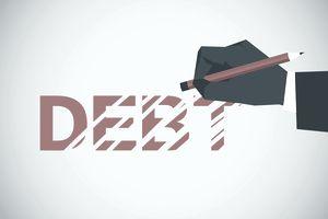 Hand erasing debt