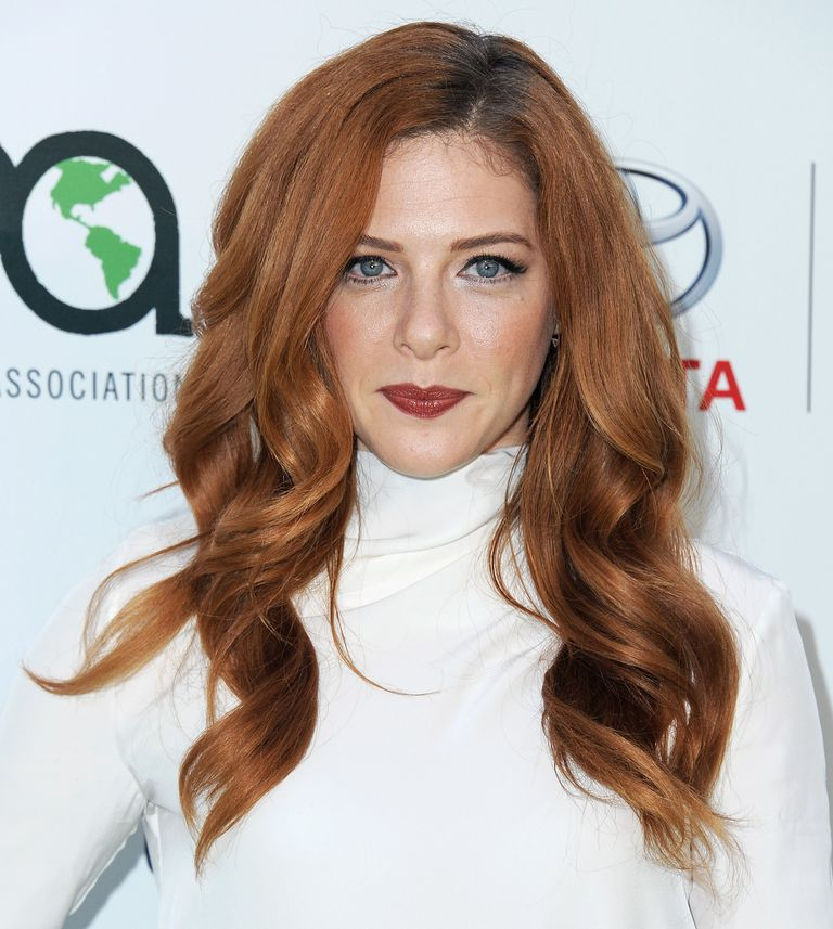 Long wavy hairstyles the best cuts colors and styles actress rachelle lefevre arrives at environmental media association hosts its 25th annual ema awards presented by toyota and lexus at warner bros urmus Images