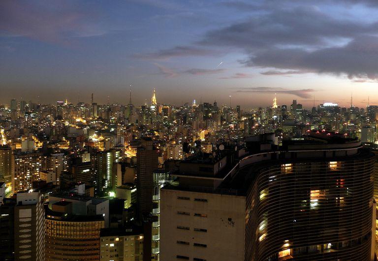 Sao Paulo from above