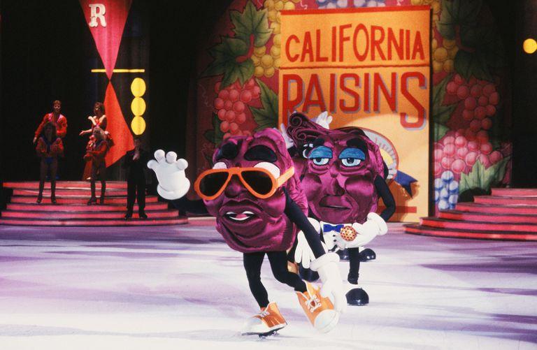Dancing California Raisins