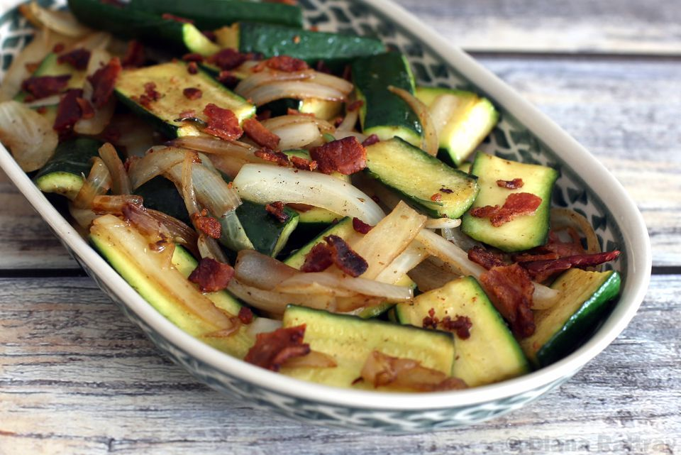 Skillet Summer Squash With Onions