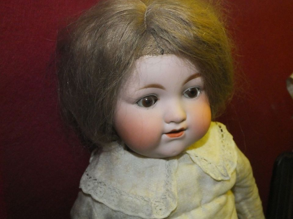 Doll from the collection of the Guildhall Museum in Rochester, Kent.