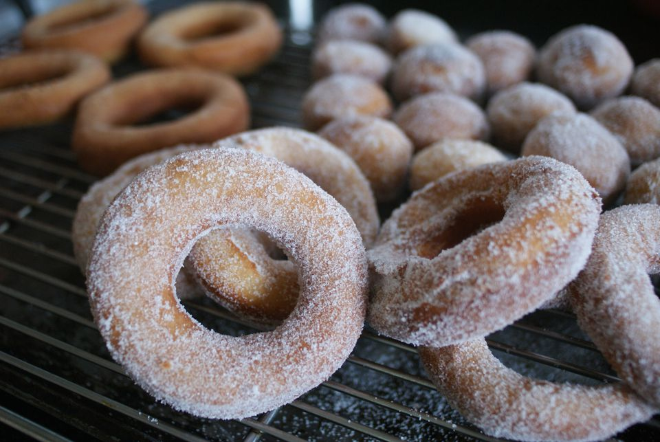Whole Wheat Doughnuts