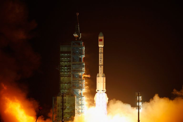 China Launches Its First Space Laboratory Module Tiangong-1