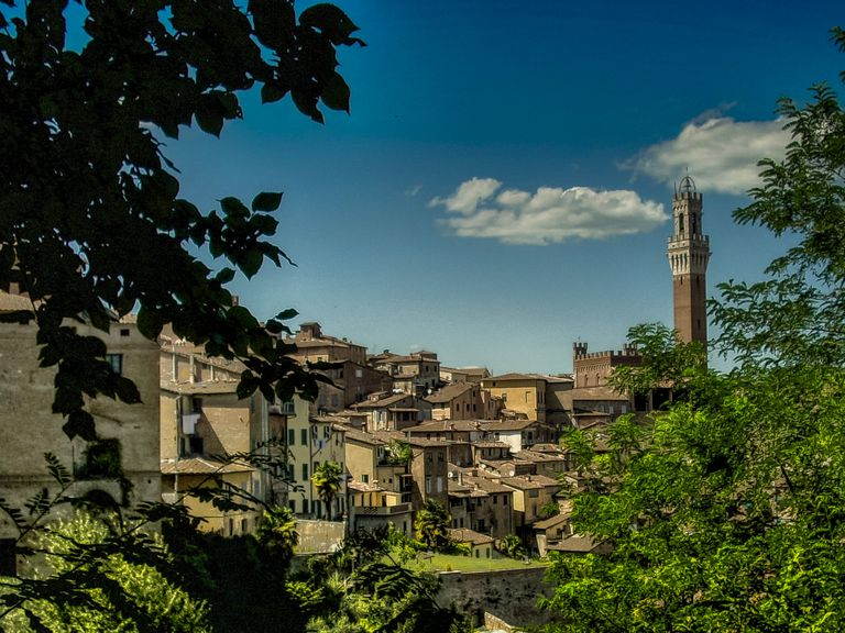 View of town in Italy