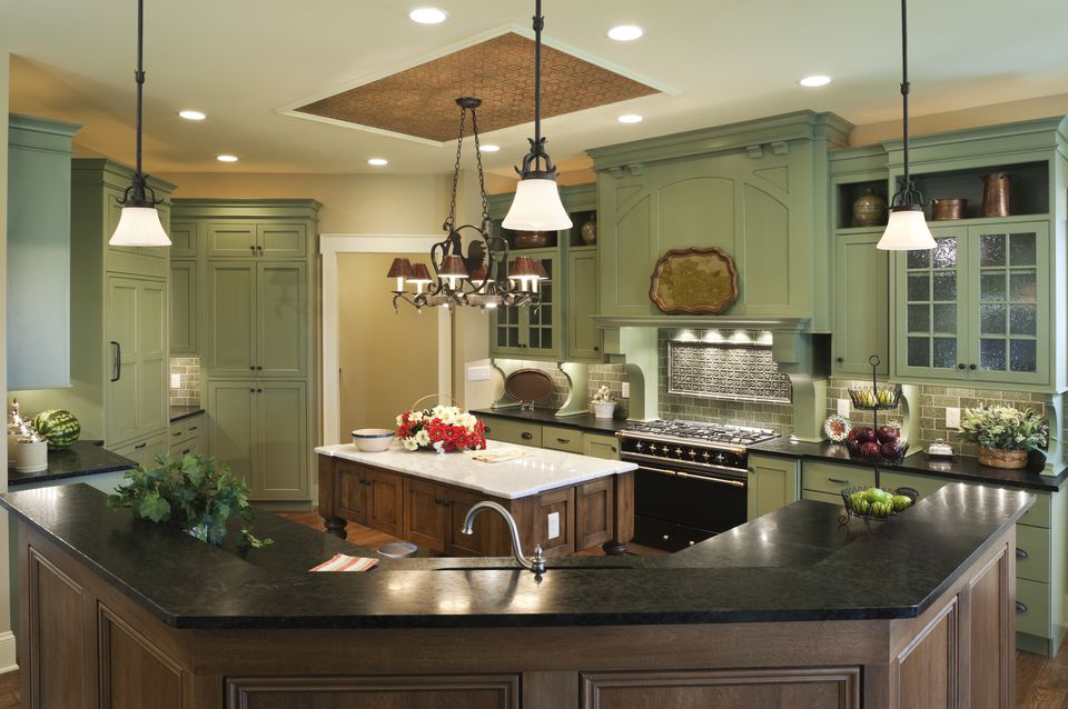 Kitchen With Soapstone Counters