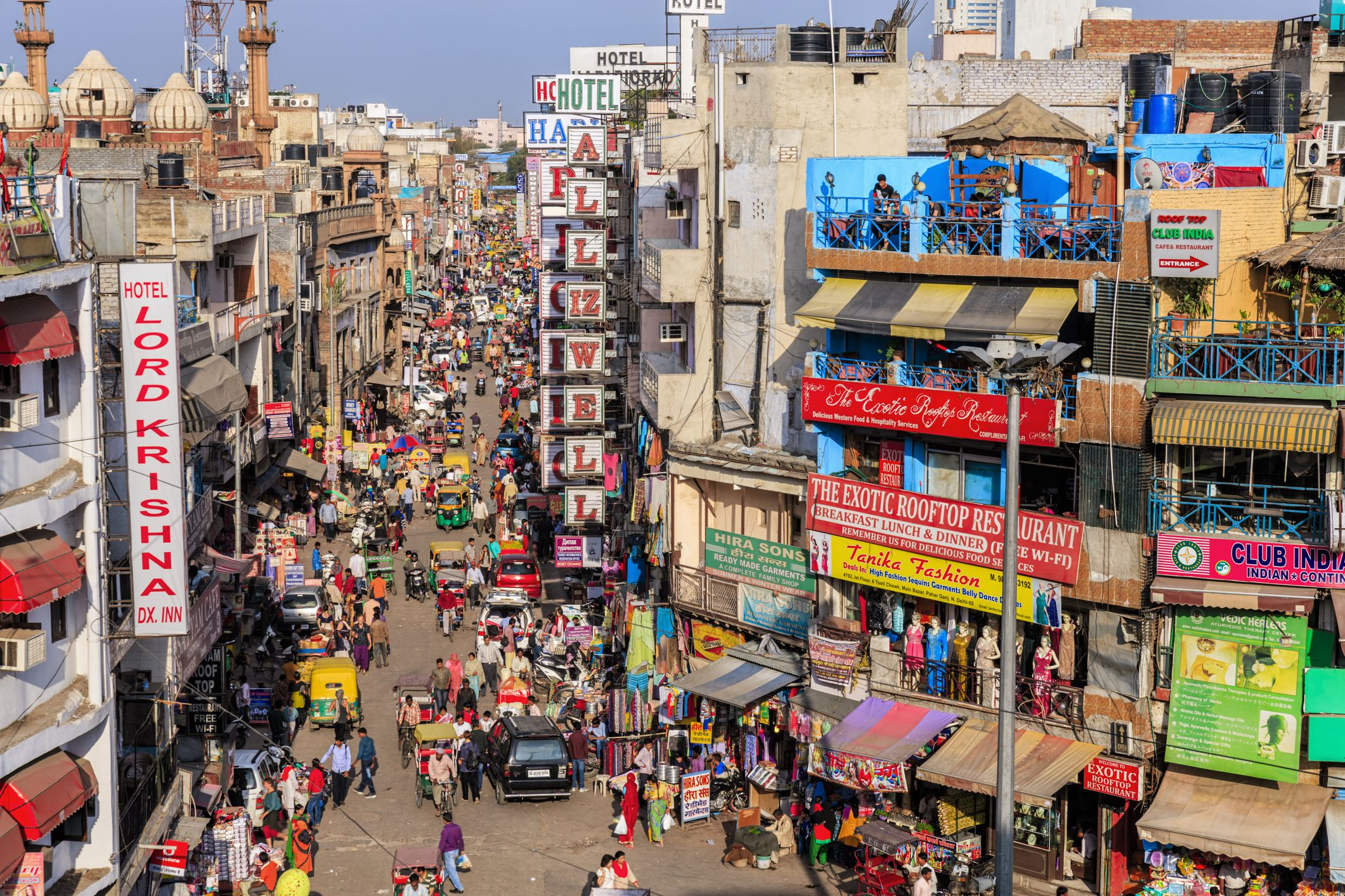 cheap paharganj shopping in delhi a photo tour guide