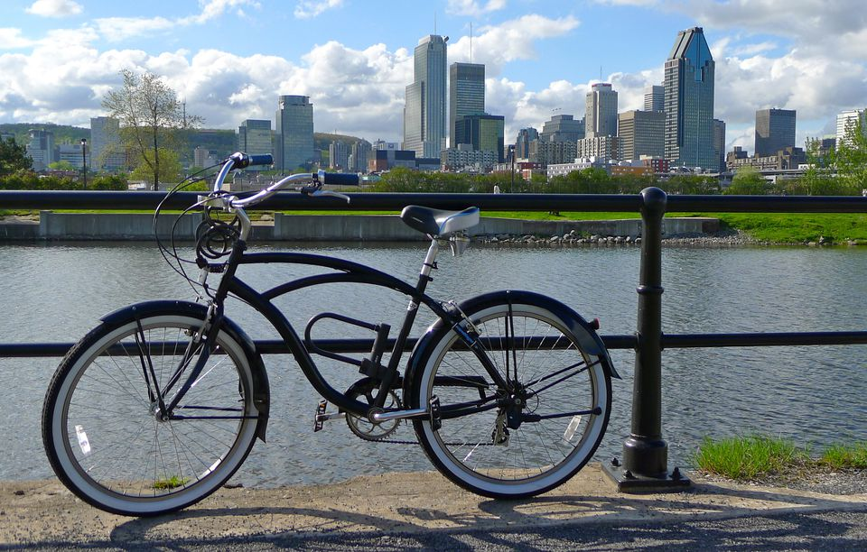 Lachine Canal is a great Montreal cycling destination.