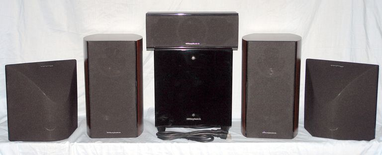Wharfedale Diamond 10 Series 5.1 Channel Speaker System - Photo - Front View