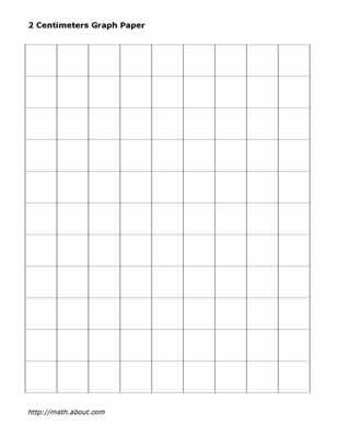 Graph Paper Template 8.5 11 Letter
