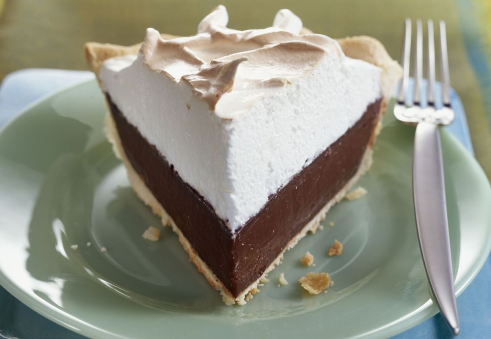 Chocolate Cream Pie With Whipped Cream Recipe