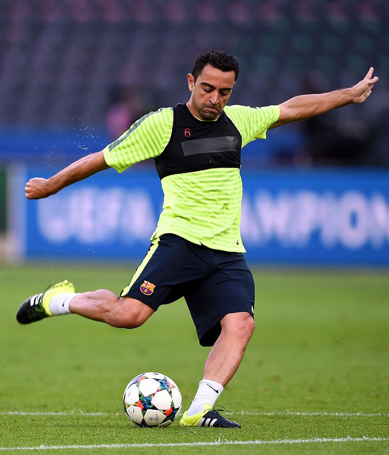 FC Barcelona Training Session - UEFA Champions League Final
