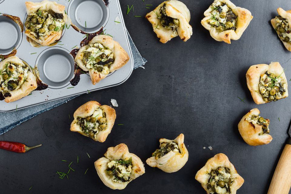 Mini puff pastries