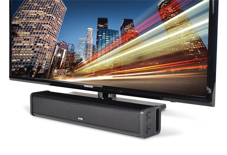 Zvox AccuVoice TV Speaker Placement Example