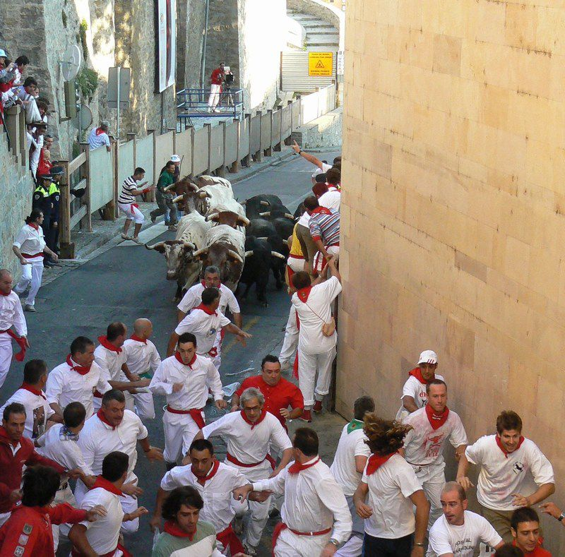 Pamplona Running Of The Bulls Guided Tours