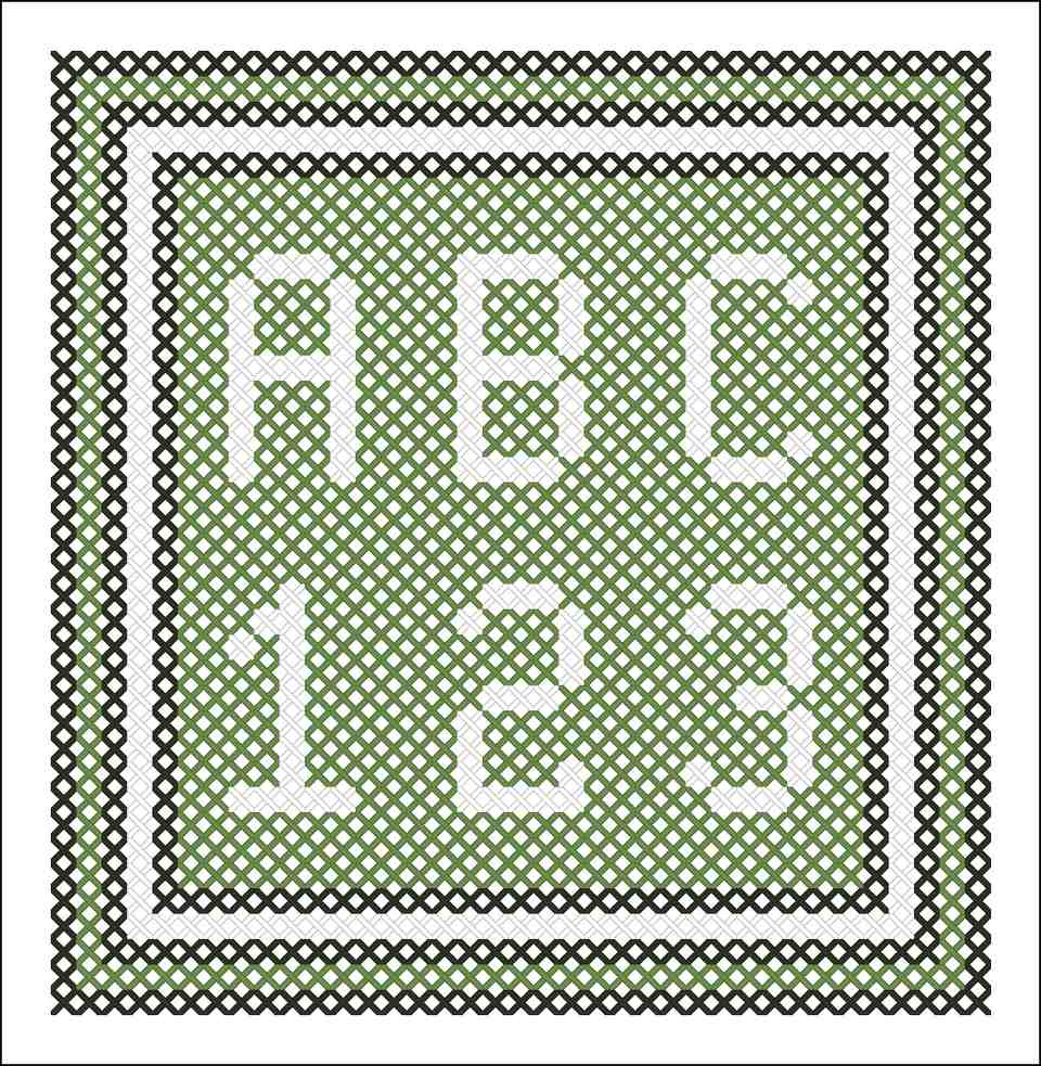 Free Printable Cross Stitch Saying and Sampler Patterns