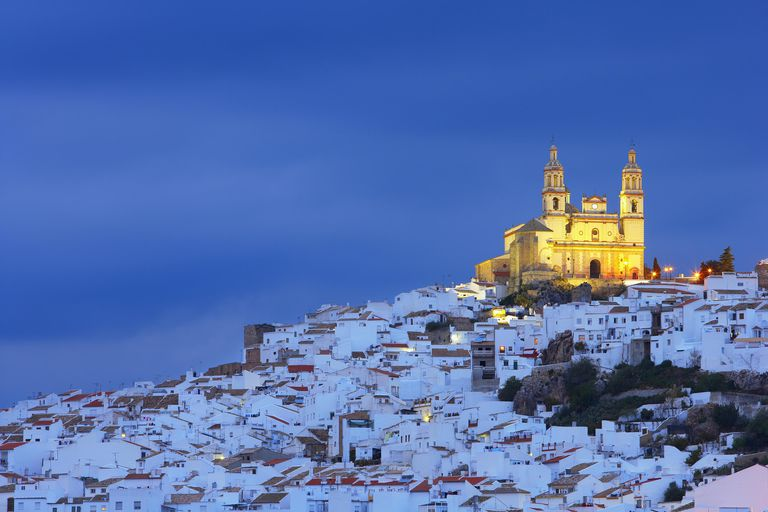 hillside in southern Spain covered in buildings