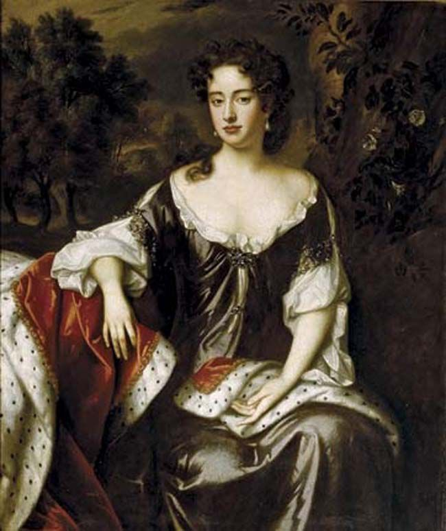 Queen Anne Painting by William Wissing.