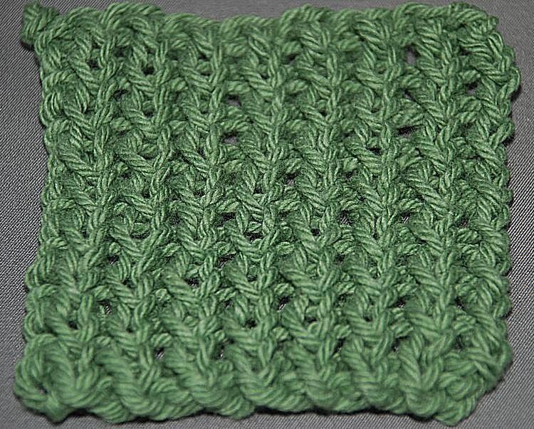 Knitting Ribbing Odd Number Stitches : Learn the twisted rib knitting stitch