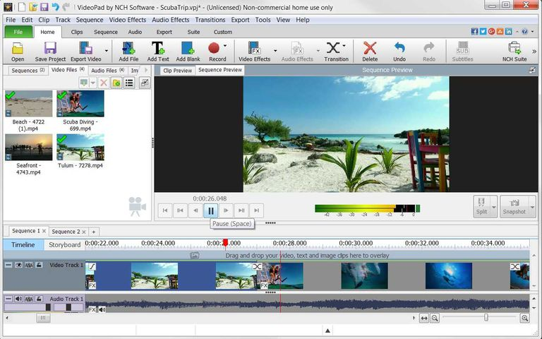 6 best free video editing software programs for 2018. Black Bedroom Furniture Sets. Home Design Ideas