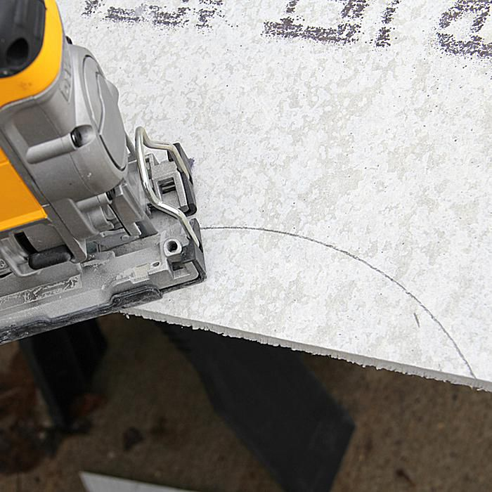 How to Cut backerboard