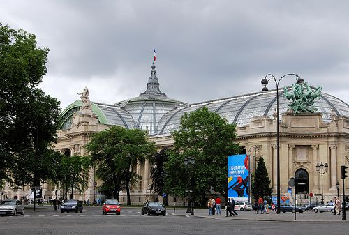 The Grand Palais was first unveiled in 1900.