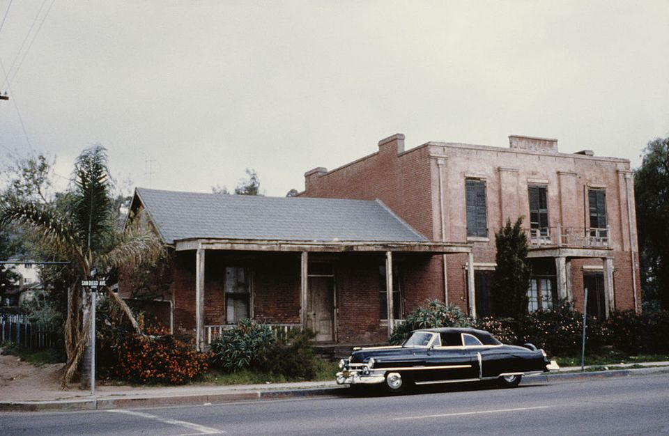 The Whaley House in 1965.