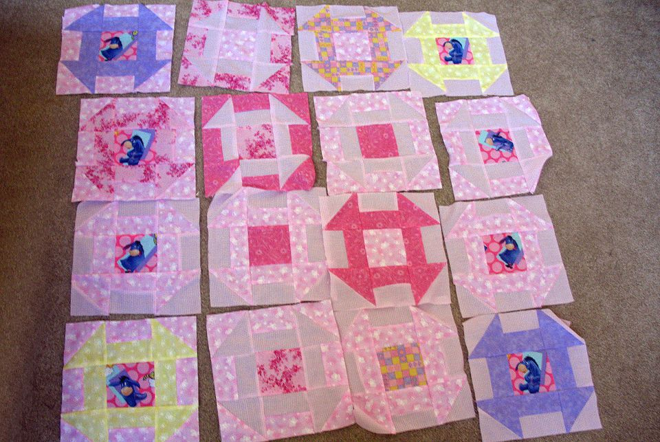Example of a UFO Quilt