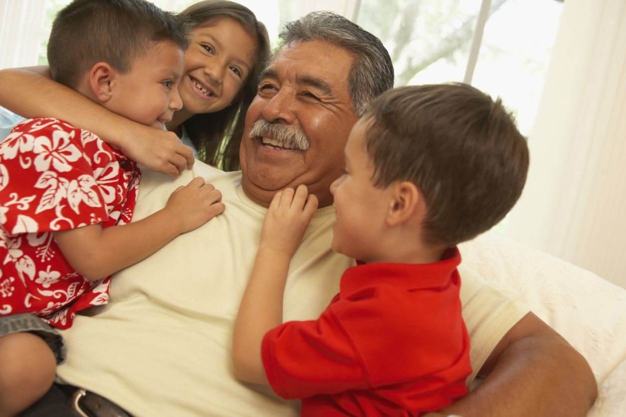 Grandparents Important In Hispanic Family Structure