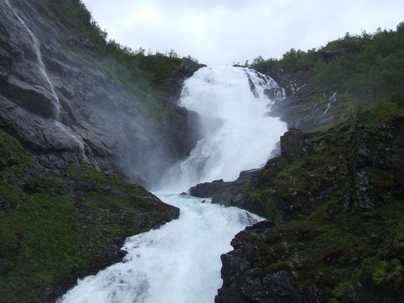 Flam Norway Overland To Voss On The Flam Railway