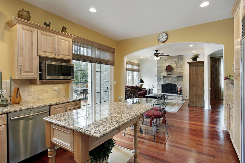 staged to sell kitchen