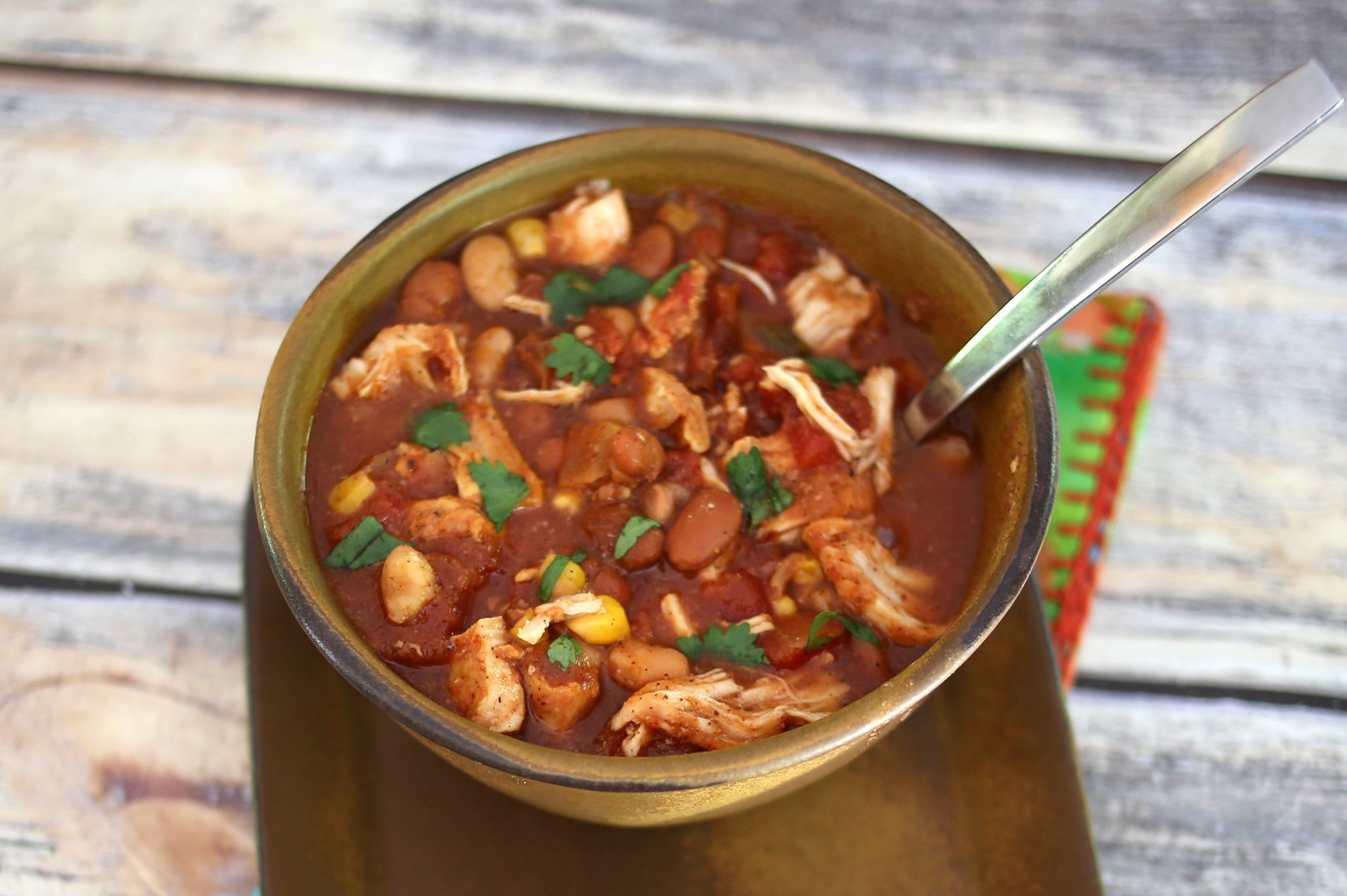 Spicy Delicious Chicken Chili Stew Recipe