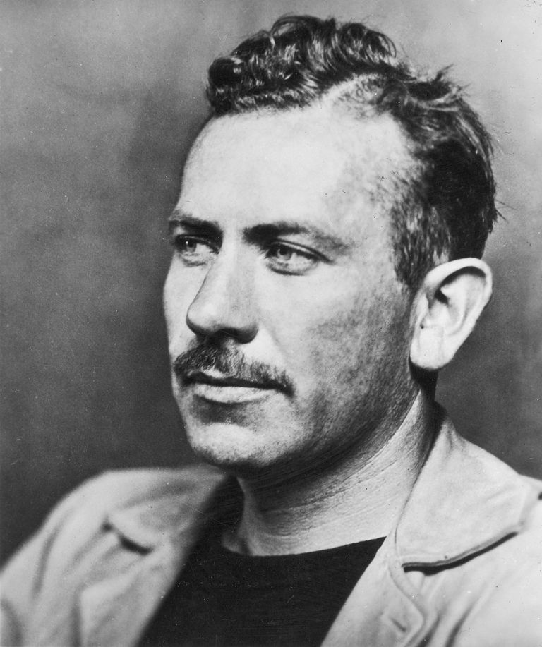 Picture of John Steinbeck, author of The Grapes of Wrath.