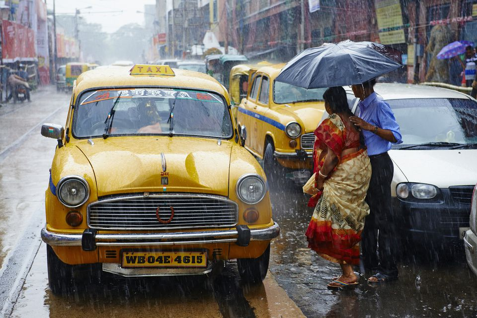 Monsoon in Kolkata.