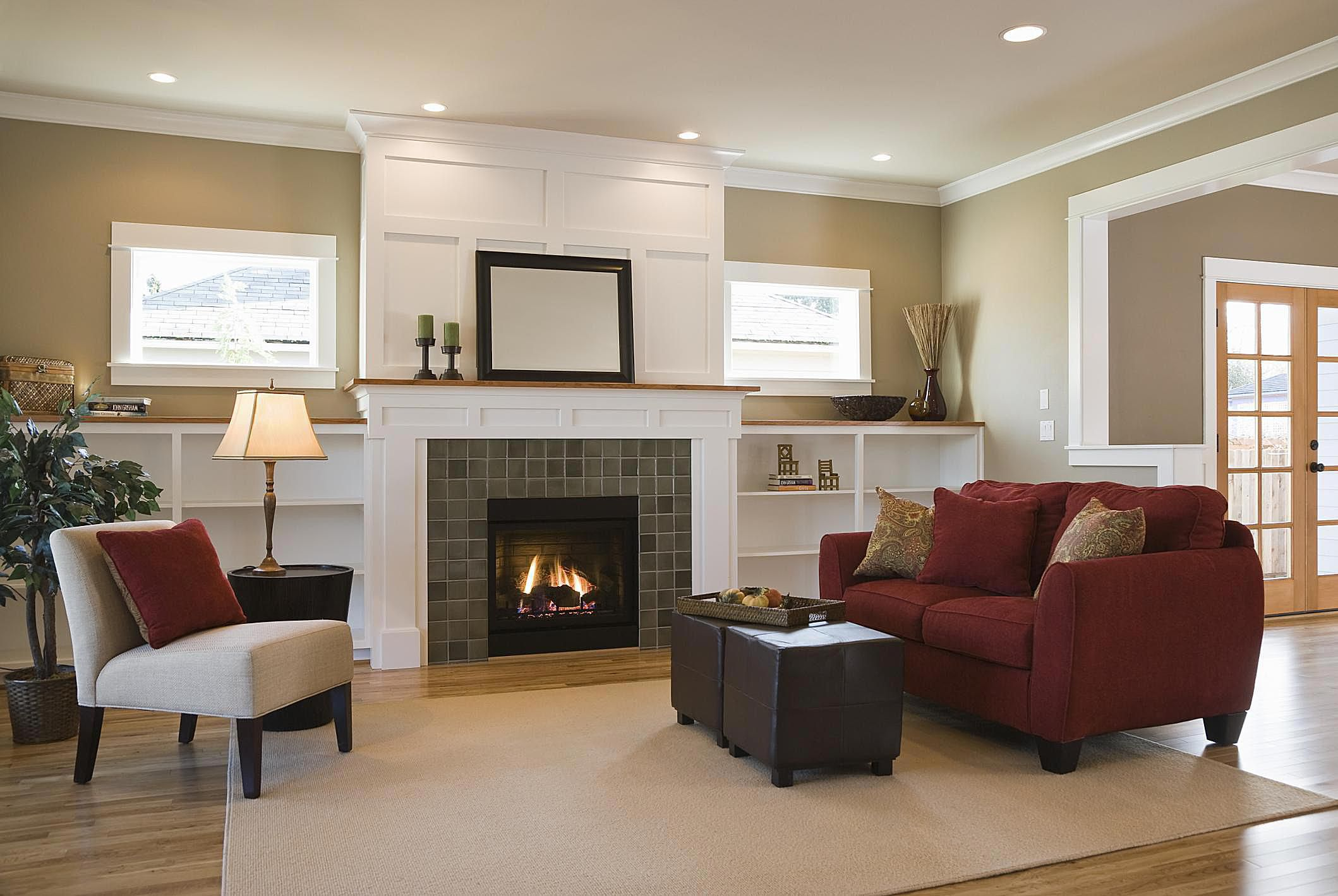the best living room design ideas on a budget - Decorating Ideas For Living Rooms With Fireplaces